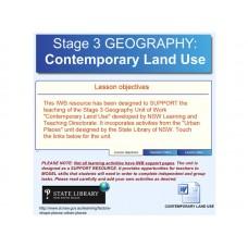 Contemporary Land Use
