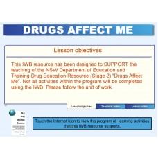 Drugs Affect Me