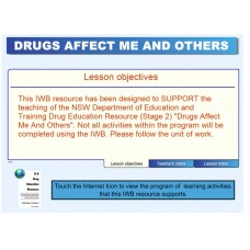 Drugs Affect Me and Others