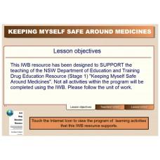Keeping Myself Safe Around Medicines