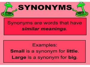 """synonyms - Sử dụng từ đồng nghĩa trong Speaking, """"ẵm trọn"""" điểm Vốn từ"""