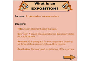 exposition conclusion example
