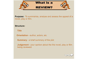purpose of review text